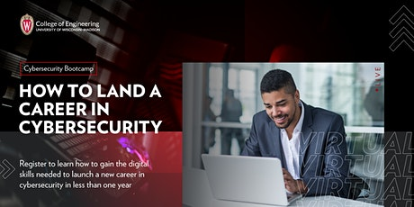 How to Land a Career in Cybersecurity  | Info Session tickets
