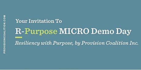 R-Purpose MICRO Winter Demo Day Tickets
