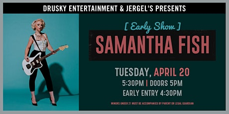 Samantha Fish (Early Show) tickets
