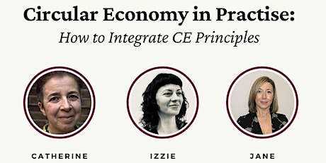 Circular Economy in Practice: How to integrate CE principles. tickets