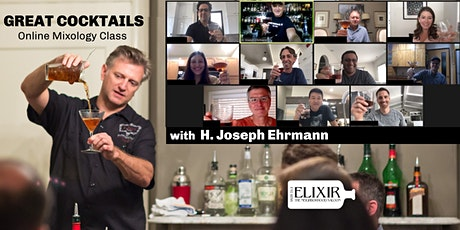 Great Cocktails (The Online Mixology Class) tickets