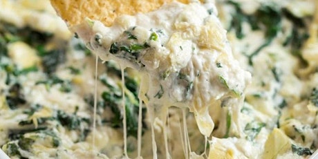 UBS - Virtual Cooking Class: Healthy Artichoke and Spinach Dip tickets