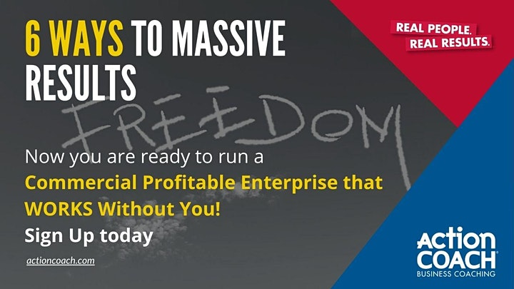 6 Steps to Grow Your Business Virtual Seminar image