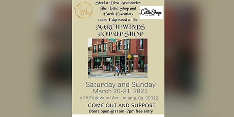 March Winds Pop Up Shop tickets