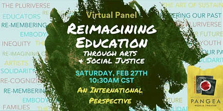 """Reimagining Education"" Virtual Panel tickets"