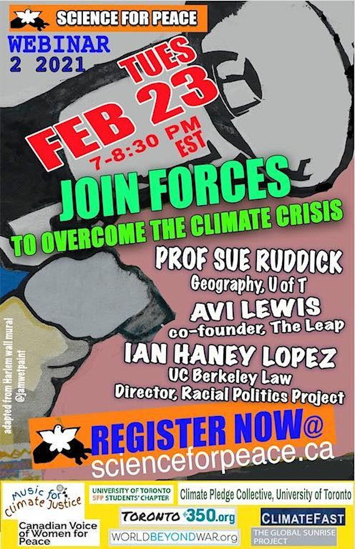 Join Forces To Overcome The Climate Crisis image