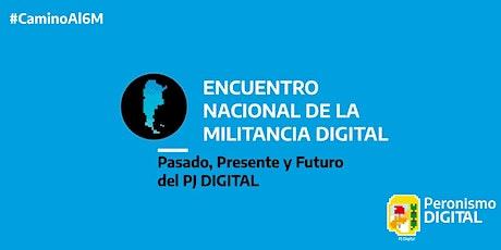Encuentro nacional de la militancia digital entradas