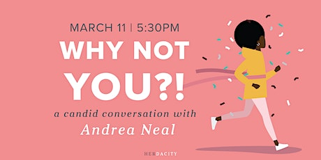 Why Not YOU?! | a Candid Conversation tickets