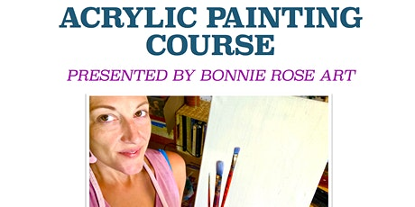 Acrylic Painting Course for KIDS tickets