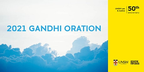 2021 Gandhi Oration | On Forgiveness tickets