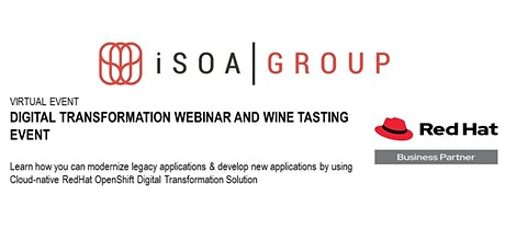 iSOA Group Digital Transformation Webinar using Red Hat OpenShift tickets