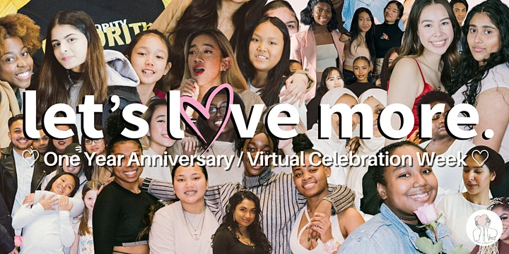 ♡ Let's Love More - One Year Anniversary & Celebration Week ♡ image