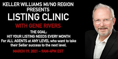 Listing Clinic with Gene Rivers tickets