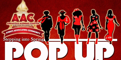 Stepping Into Spring Pop-Up Shop tickets