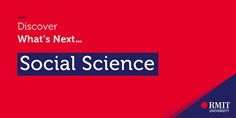 Discover What's Next: Social Science tickets