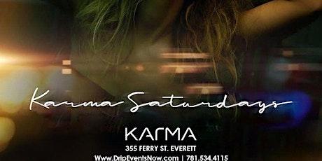 KARMA SATURDAYS | 4pm-12am tickets