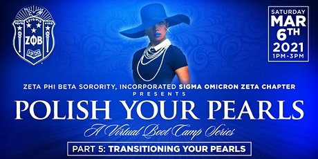Polish Your Pearls - a Virtual Bootcamp Series tickets