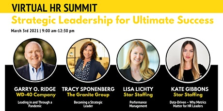 HR Summit: Strategic Leadership for Ultimate Success tickets