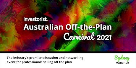Investorist Australian Off the Plan Carnival 2021| Sydney tickets