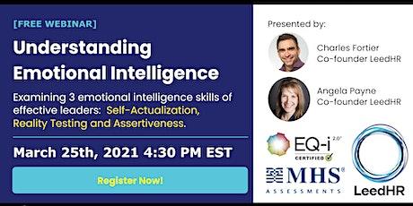 Understanding Emotional Intelligence by LeedHR tickets