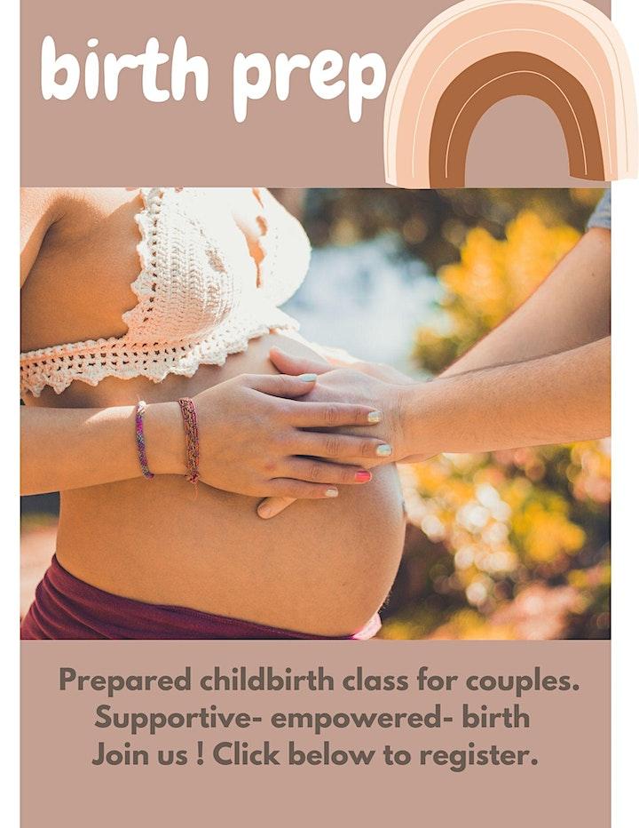 Birth Prep Prepared Childbirth class image