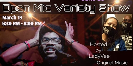 Art Out Loud ATL : Open Mic Variety Show featuring B Rock tickets