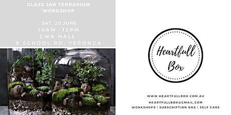 Glass Jar Terrarium Workshop tickets