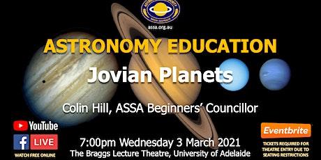 Astronomy Education - Jovian Planets tickets