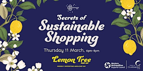 Secrets of Sustainable Shopping tickets