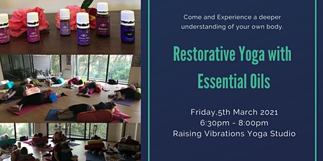 Restorative  Yoga with Essential Oils tickets