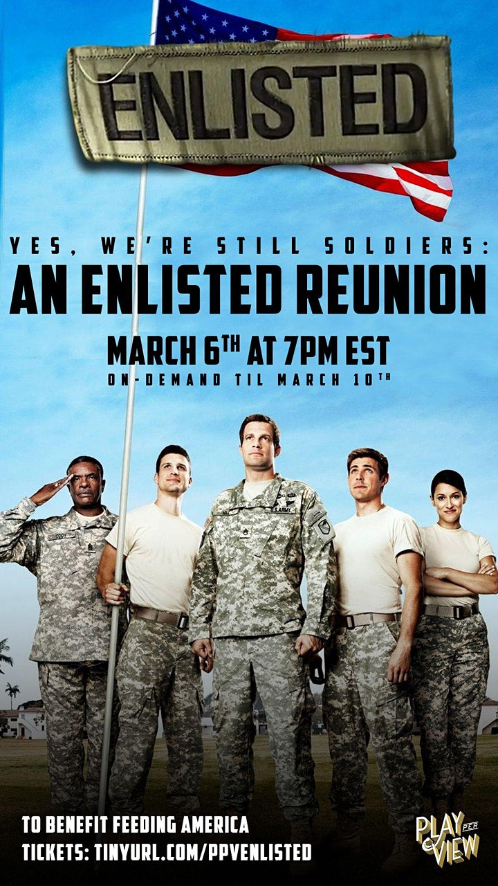 Yes, We're Still Soldiers: An Enlisted Reunion image