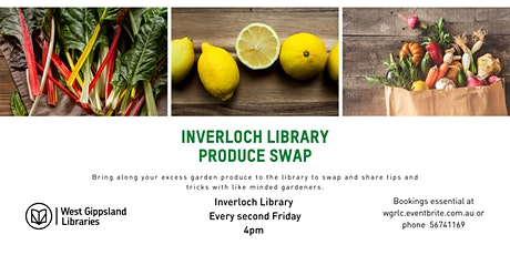 Inverloch Library Produce Swap tickets