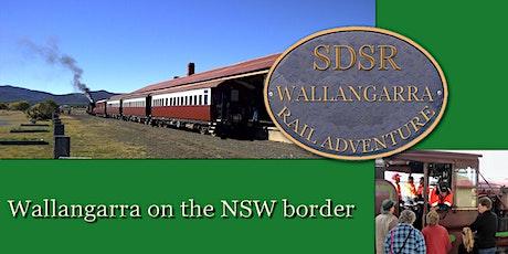 Warwick to Wallangarra Return - Optional Lunch on Wallangarra Station tickets