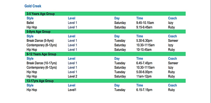 Open Week FREE classes image
