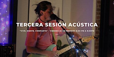 Tercera Sesión Acústica tickets