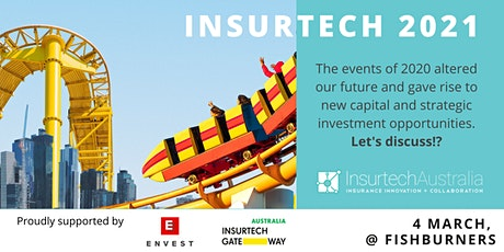 Insurtech 2021 - Exploring the Opportunities and Challenges tickets