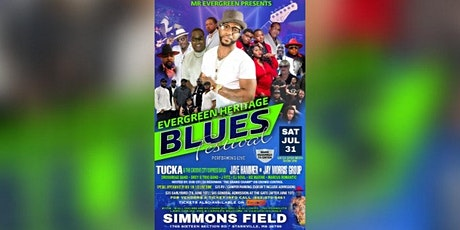 Evergreen Heritage Blues Festival tickets