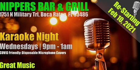 Karaoke at Nippers | Boca Raton, FL | Today is the day! tickets