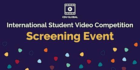 CDU International Student Video Screening tickets