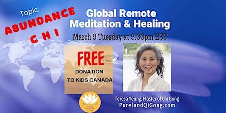 Global  Remote Healing - Abundance Chi tickets