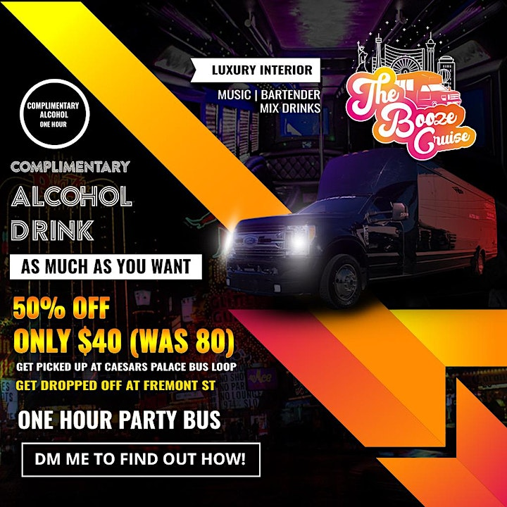Free Open Bar / Party Bus Info WILL CALL YOU INFO HERE SIGN UP! image
