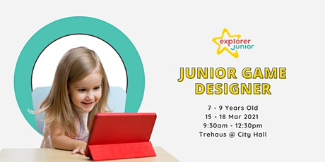 Jr. Game Designer March Holiday Camp tickets