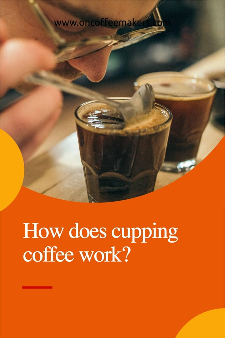 How does cupping coffee work? image
