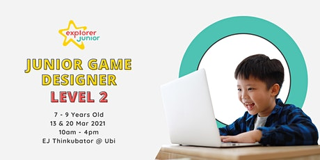 Jr. Game Designer Level 2 Holiday Camp tickets