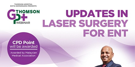 Updates in Laser Surgery for ENT tickets