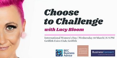 International Women's Day – #choosetochallenge ft. Lucy Bloom – Griffith