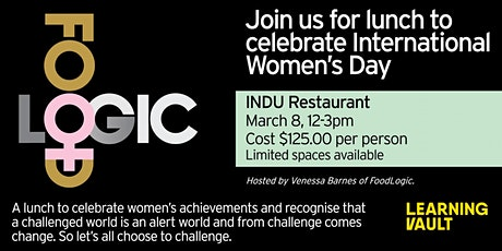 Celebrating the Inspirational Women in the Foodservice Industry tickets