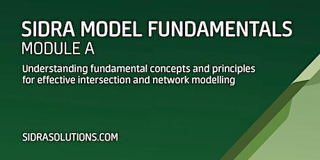 SIDRA MODEL FUNDAMENTALS Module A [TE101] tickets
