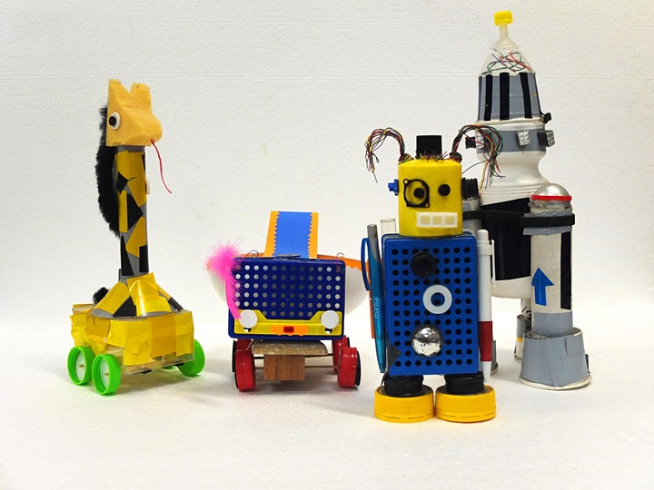 SOLD OUT Tinker Lab - Invent Your Own Scrap-Bot image