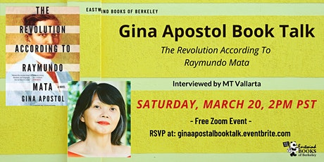 Gina Apostol Book Talk on The Revolution According To  Raymundo Mata tickets